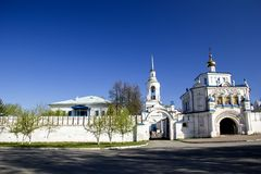 Christelijk orthodox klooster Stock Afbeelding