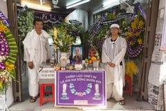 Christelijke begrafenis in Vietnam Royalty-vrije Stock Afbeelding