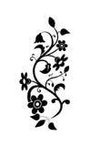 Christelijke bloemenachtergrond Royalty-vrije Stock Afbeeldingen