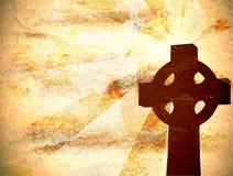 Christelijke DwarsAchtergrond royalty-vrije illustratie