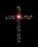 Christelijke dwarssterren Stock Foto
