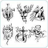 Christelijke Godsdienst - vectorillustratie. Stock Foto
