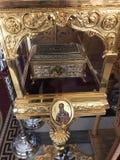 Christelijke hulstbeenderen Royalty-vrije Stock Afbeeldingen