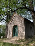 Christelijke kapel, Jablunkov Navsi, Tsjechische Republiek/Czechia Royalty-vrije Stock Fotografie