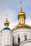 Christelijke kerk in Ð ¡ hebarkul, Rusland royalty-vrije stock foto
