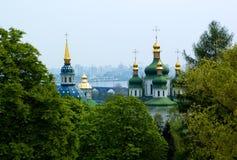 Christelijke kerk in de zomer van Kiev Royalty-vrije Stock Fotografie
