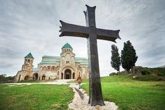 Christelijke kerk in Georgi? stock afbeelding