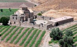 Christelijke kerk, Panagia Sinti, Cyprus Stock Afbeelding