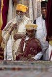 Christelijke Orthodoxe priesters Stock Foto's