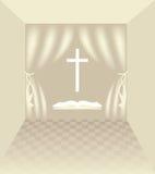 Christelijke symbolen Stock Foto's