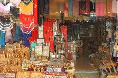 Christelijke symbolen in de het oostenmarkt van Jeruzalem stock fotografie
