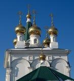 Christelijke tempel Stock Afbeelding