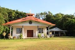Catholic church. Christen catholic church on Peleliu island in Palau Stock Photos