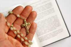 Christendom, overtuiging, geloof Royalty-vrije Stock Foto's
