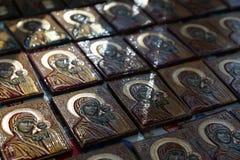 Christendom van het de godsdienst het godsdienstige geloof van de pictogramikoon stock foto