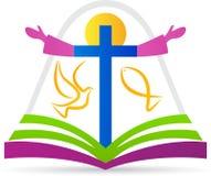 Christendomembleem vector illustratie