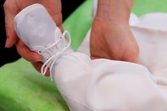 christening младенца стоковые фотографии rf