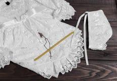 Christening baby white Royalty Free Stock Photo