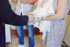 Christening Ceremony Royalty Free Stock Images