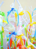 Christening sweets for kids Stock Image