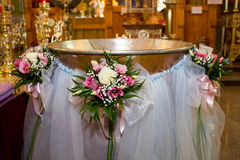 christeningstilsort Fotografering för Bildbyråer