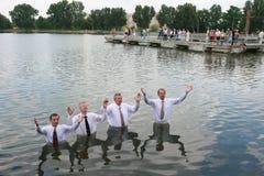 christeningvatten Arkivbilder