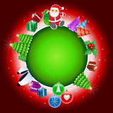 ChristGlobe2 Royalty Illustrazione gratis