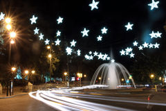 Christhmas Plaza de la Reina Lizenzfreie Stockfotografie
