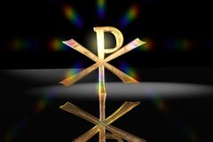 christi christiana pacyfikału symbol krzyża Obrazy Royalty Free