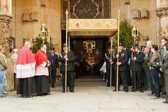 christi korpus językowy dzień korowód religijny Zdjęcie Royalty Free
