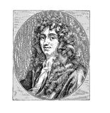 Christiaan Huygens Dutch mathematician and scientist of XVII. Christiaan Huygens 14 April 1629 – 8 July 1695 Dutch mathematician,astronomer, physicist Stock Image