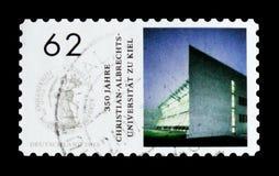 Christian Albrechts University, Kiel, 350 años de serie del aniversario, circa 2015 Fotos de archivo libres de regalías