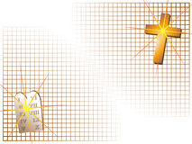 Christian Background Graphic Royalty Free Stock Image