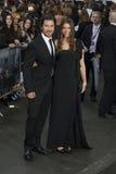 Christian Bale, de Duisternis Stock Foto's