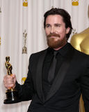 Christian Bale. At the 83rd Annual Academy Awards Press Room, Kodak Theater, Hollywood, CA. 02-27-11 Royalty Free Stock Photography