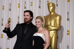 Christian Bale,Reese Witherspoon Royalty Free Stock Photo