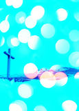 Christian baptism Stock Images