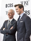 Christian Borle and Andrew Rannells Royalty Free Stock Photo