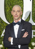 Christian Borle. Prolific actor Christian Borle arrives on the red carpet for the 71st Annual Tony Awards celebrating excellence and achievement in Broadway Stock Image