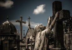European Christian burial royalty free stock photo