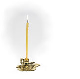 Christian candle Royalty Free Stock Photos