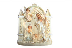 Christian carved icon Royalty Free Stock Photo