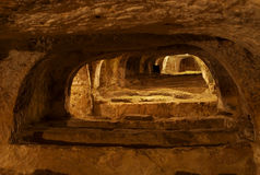 Christian Catacombs, Rabat, Malta Royalty Free Stock Photography