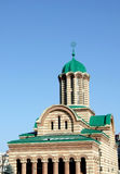 Christian cathedral. In city of Targoviste Royalty Free Stock Photos