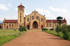 Christian Cathedral in Butare (Huye) Royalty Free Stock Photos