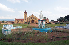 Christian Cathedral in Butare (Huye) Royalty Free Stock Images
