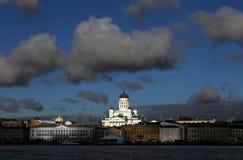 Christian Cathedral Church i Helsingfors, Finland fotografering för bildbyråer