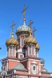 Christian Cathedral i Nizhnij Novgorod. Royaltyfri Fotografi