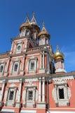 Christian Cathedral i Nizhnij Novgorod. Royaltyfri Bild