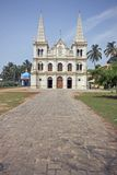Christian Cathedral in India Stock Photo